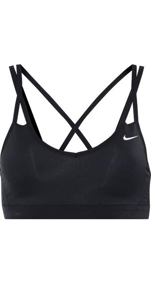 Nike Pro Indy Strappy - Brassière de sport Femme - noir